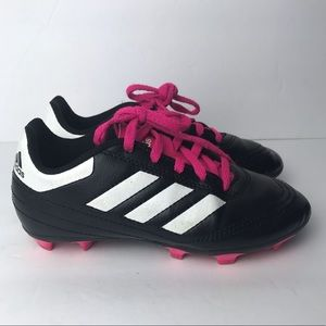 Adidas girl cleats size 13